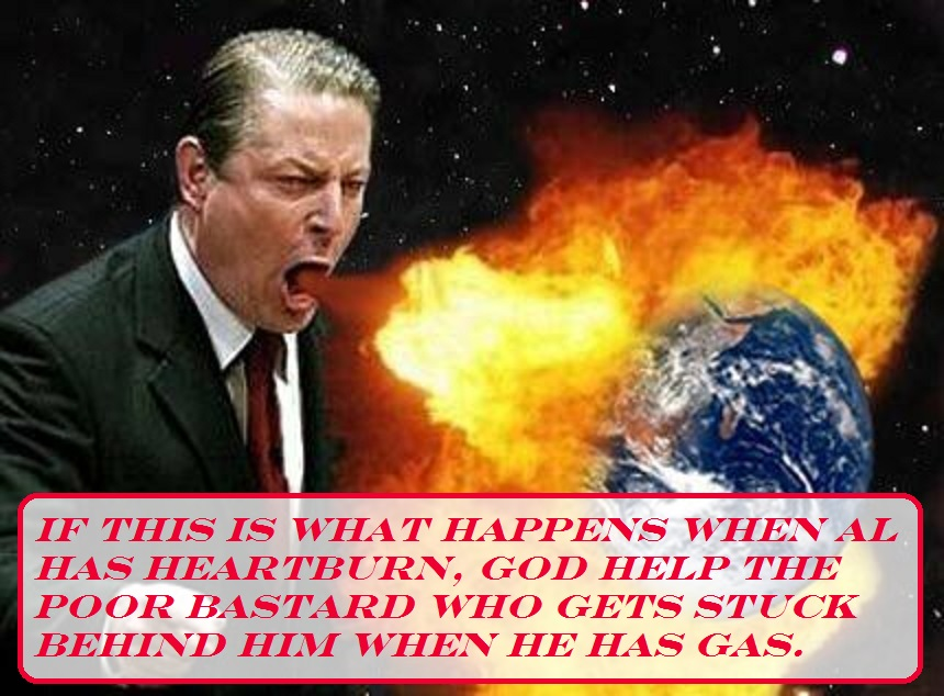 Photo of 10 years ago, Al Gore warned the North Polar Ice cap would be gone by the year 2013… It's still there