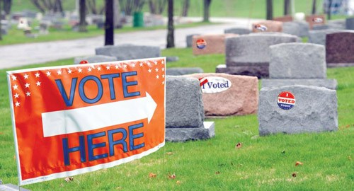 Lawsuit Claims More Than 2500 Dead People Are Registered to Vote in Detroit