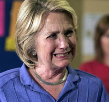 Still Bitter, Hillary Comes Out of Hiding to Attack Trump, Makes a Complete Fool of Herself