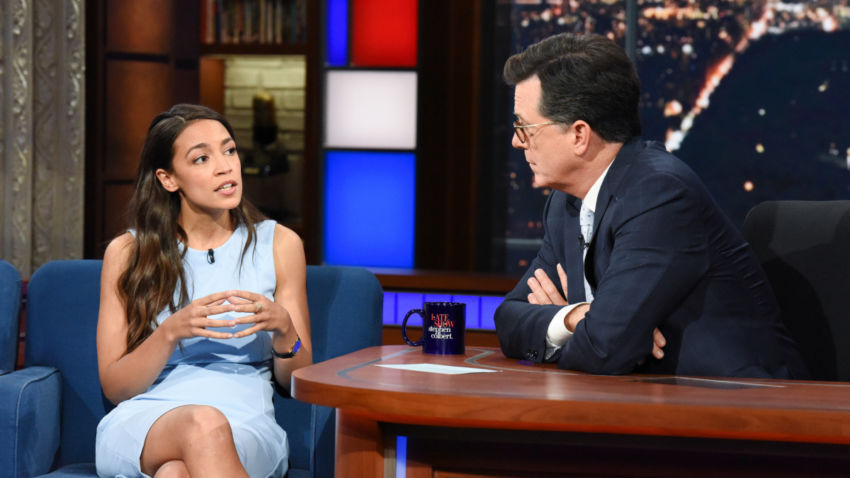 "Photo of Alexandria Ocasio-Cortez BUSTED: Working ""Girl from the Bronx"" Grew Up in Wealthy Neighborhood"