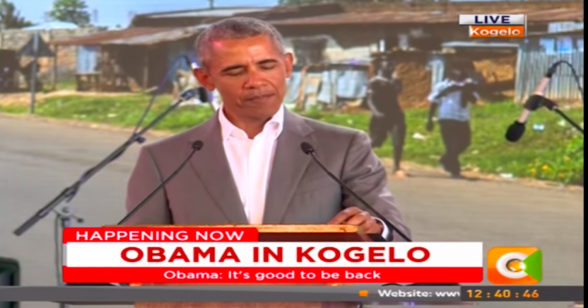 "Photo of Obama Rubs America's Nose In It From Kenya: ""I'm The First Sitting American President To Come From Kenya"""