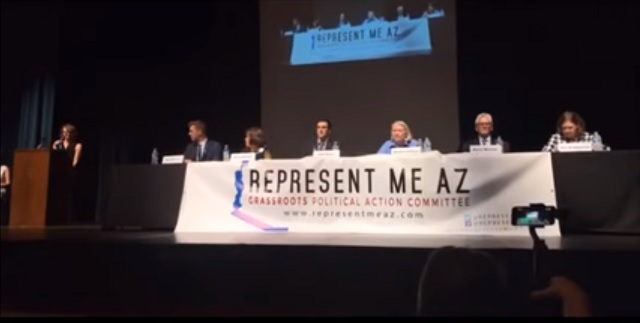 Photo of Arizona Democrat Booed For Supporting ICE: 'You Should Be Ashamed Of Yourself!'