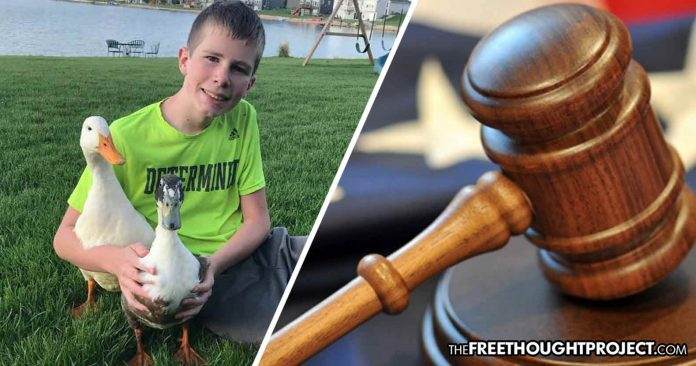 Photo of Family of Autistic Boy Fighting Back After Town Tells Them to Get Rid of His Therapy Ducks