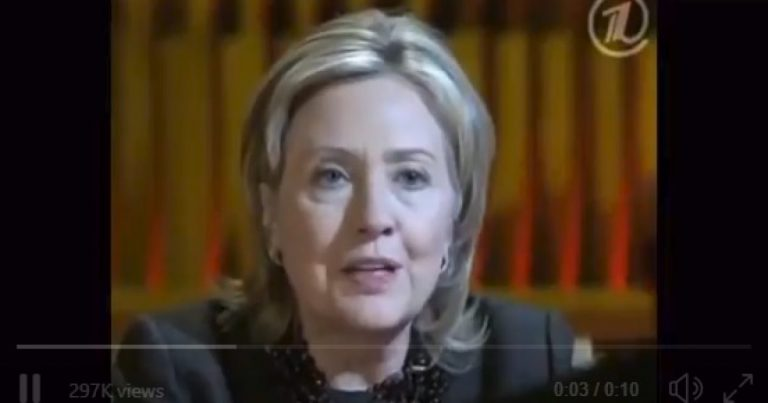 """Then-Secretary of State Clinton: """"We Very Much Want To Have A Strong Russia"""""""