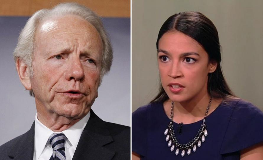 Photo of Too Socialist for the Socialists? Former Senator and VP Candidate Joe Lieberman Blasts Alexandria Ocasio-Cortez