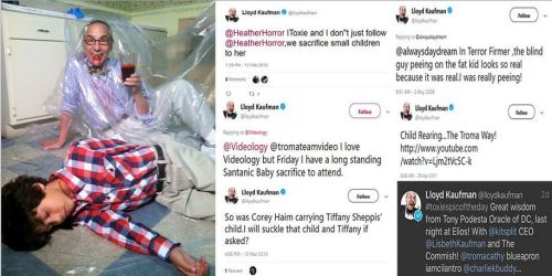 The sick pedo tweets and pics of Hollywood director James Gunn