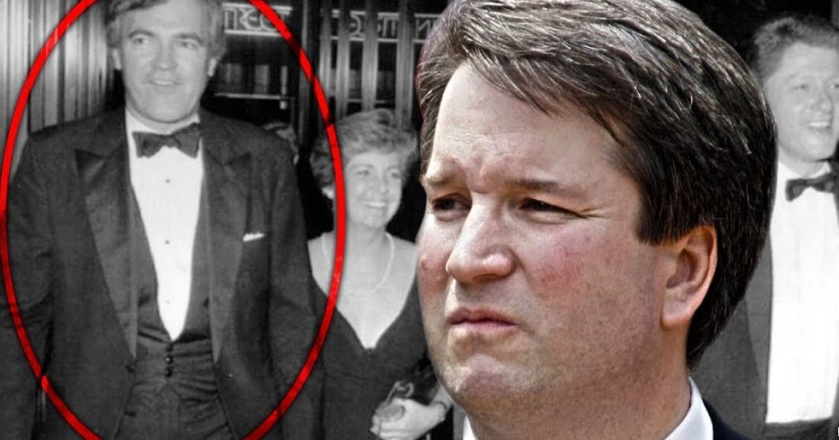 "Photo of Brett Kavanaugh: A ""Controlled Judge"" Who Aided In Cover-up Of Vince Foster Case?"