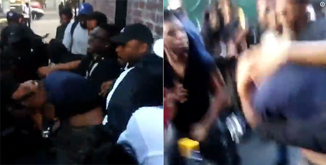 Photo of SHOCK VIDEO: Violent Mob Viciously Attacks 'Suspected Right-Winger' At Oakland Protest