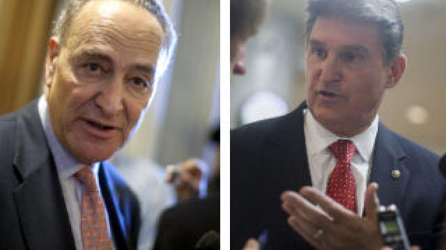 "Photo of Democrat Senator Joe Manchin tells Schumer to ""Kiss my you know what""… I Will Vote for Kavanaugh If I Want To"