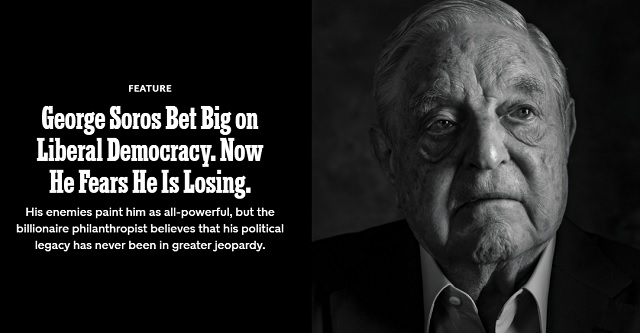 Photo of George Soros Bet Big On World Communism. Now He Fears He Is Losing.
