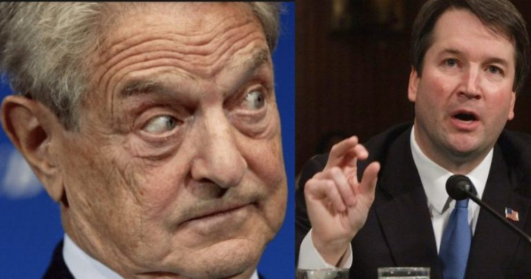 Soros-Funded Group to Spend Millions to Fight Trump SCOTUS Nominee Kavanaugh