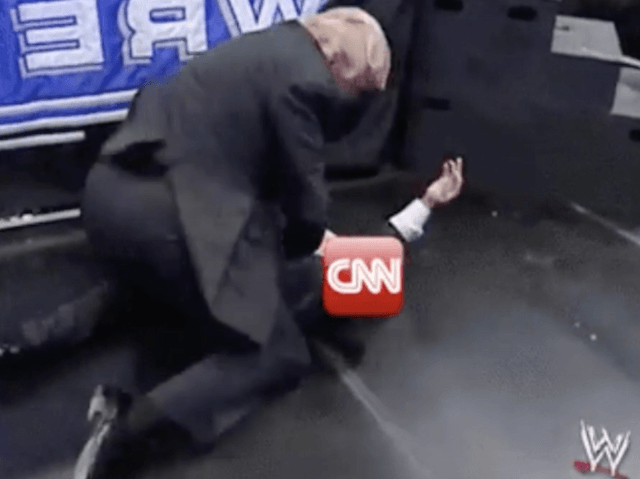 "Photo of US Mainstream Media Resembles WWE's ""RAW"" Rather Than Journalism"