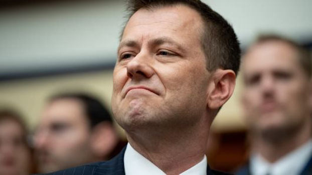 Photo of Strzok fired by FBI but still works for the CIA