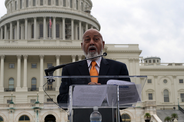Photo of Rep. Alcee Hastings makes disturbing joke referencing Trump's death