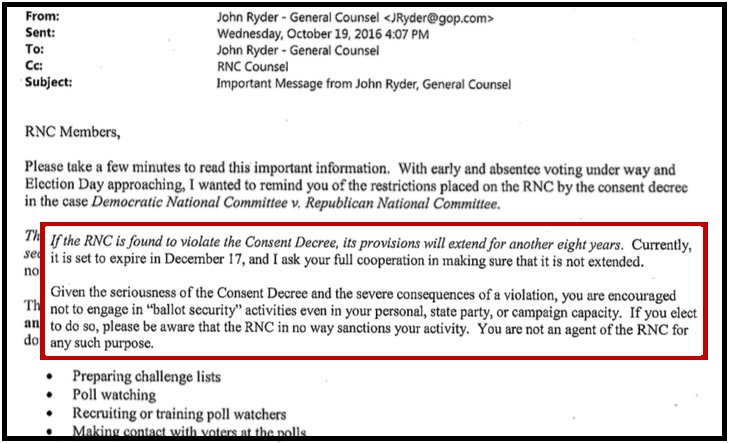 Photo of End of 1982 Consent Decree: GOP can finally contest vote fraud after 36 years