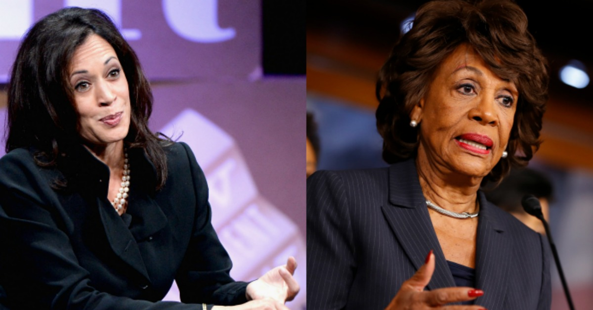 Photo of Dirty Politics in Cali: Maxine Waters Collects Big Money from Other Democrats in Exchange for Her Endorsement