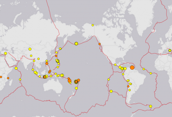 Photo of Our Planet Has Been Violently Shaken By 144 Major Earthquakes in 7 Days