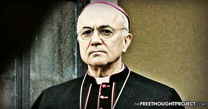 Photo of Archbishop Vigano Reportedly Flees Italy, Citing Fears for His Life, After Accusing Pope of Sex Abuse Cover Up