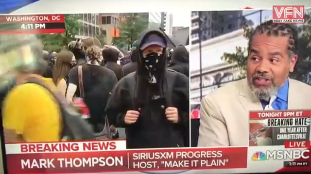 Photo of MSNBC's Mark Thompson: Only White People Can Be Racist