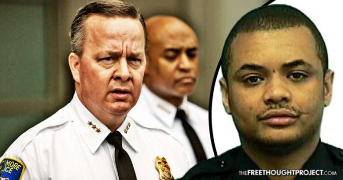 Photo of Corrupt Baltimore PD Claims Cop Killed Himself, While Chasing Suspect, Days Before Testifying Against Dirty Cops