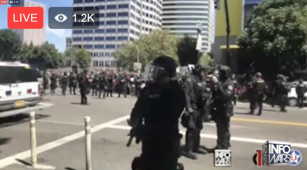 Photo of Fatalities averted at Portland protests due to overwhelming presence of cool-headed patriots