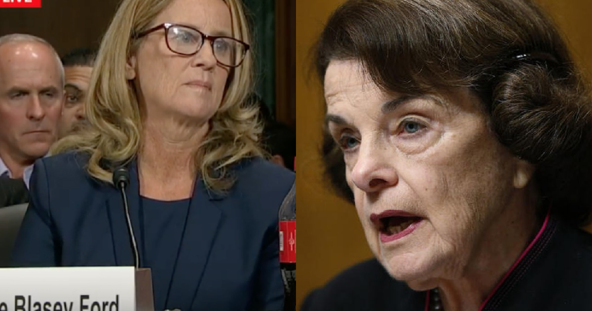 Photo of GOP Senator Calls Out Feinstein – Wants Her Asked Under Oath If She Leaked Ford Letter