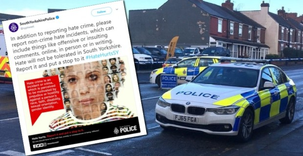 "Photo of UK: Police Tell Citizens to Report ""Offensive"" Comments Even if They're Not ""Hate Crimes"""