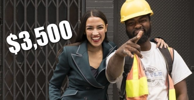 Photo of Socialist Alexandria Ocasio-Cortez Wears $3,500 Outfit For Photo-op With Construction Workers