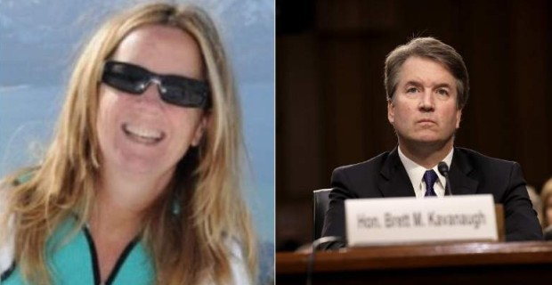 Photo of Kavanaugh Accuser is an Anti-Trump Leftist Who Attended Women's March, Donated to DNC