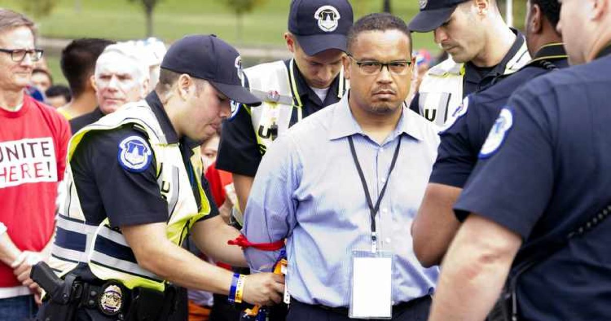 Photo of Cop Killer Supporter Keith Ellison Calls Police To Protect Him From Laura Loomer