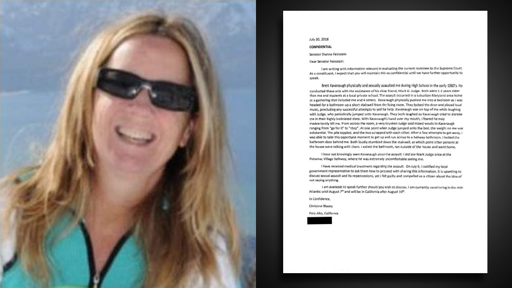Photo of BOMBSHELL: Christine Blasey Ford's letter to Sen. Dianne Feinstein revealed to be a total FAKE… contains 14 glaring errors that could only be committed by a poorly educated writer
