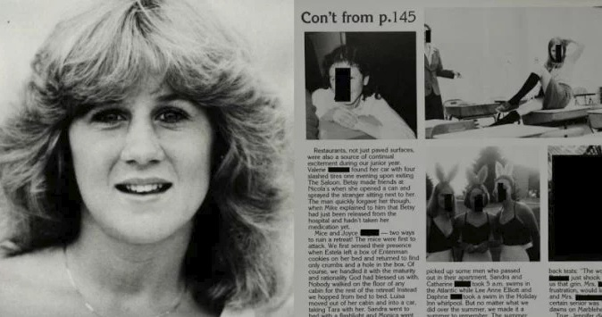 Photo of Dr. Ford's Yearbook Is Not Just Being Scrubbed From The Internet, But The Site That Exposed It Has Been Scrubbed As Well