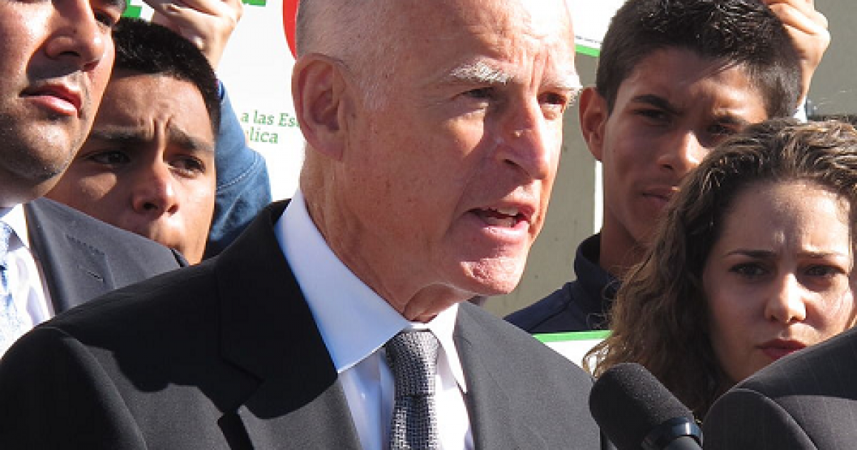 Photo of Did Gov. Jerry Brown Call For The Assassination Of President Trump?