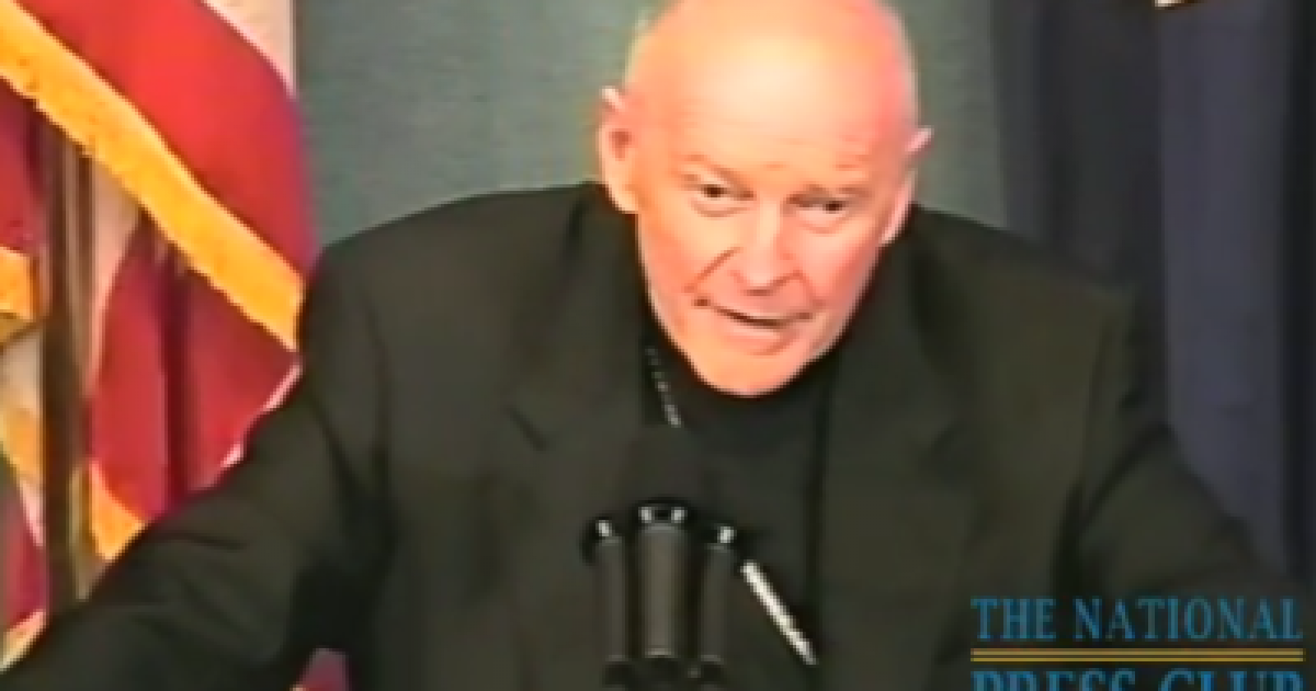 """Photo of Disgraced Sex Abuser Cardinal McCarrick Lauds """"Sense of Humanity"""" in """"Holy Book"""" the Qur'an"""