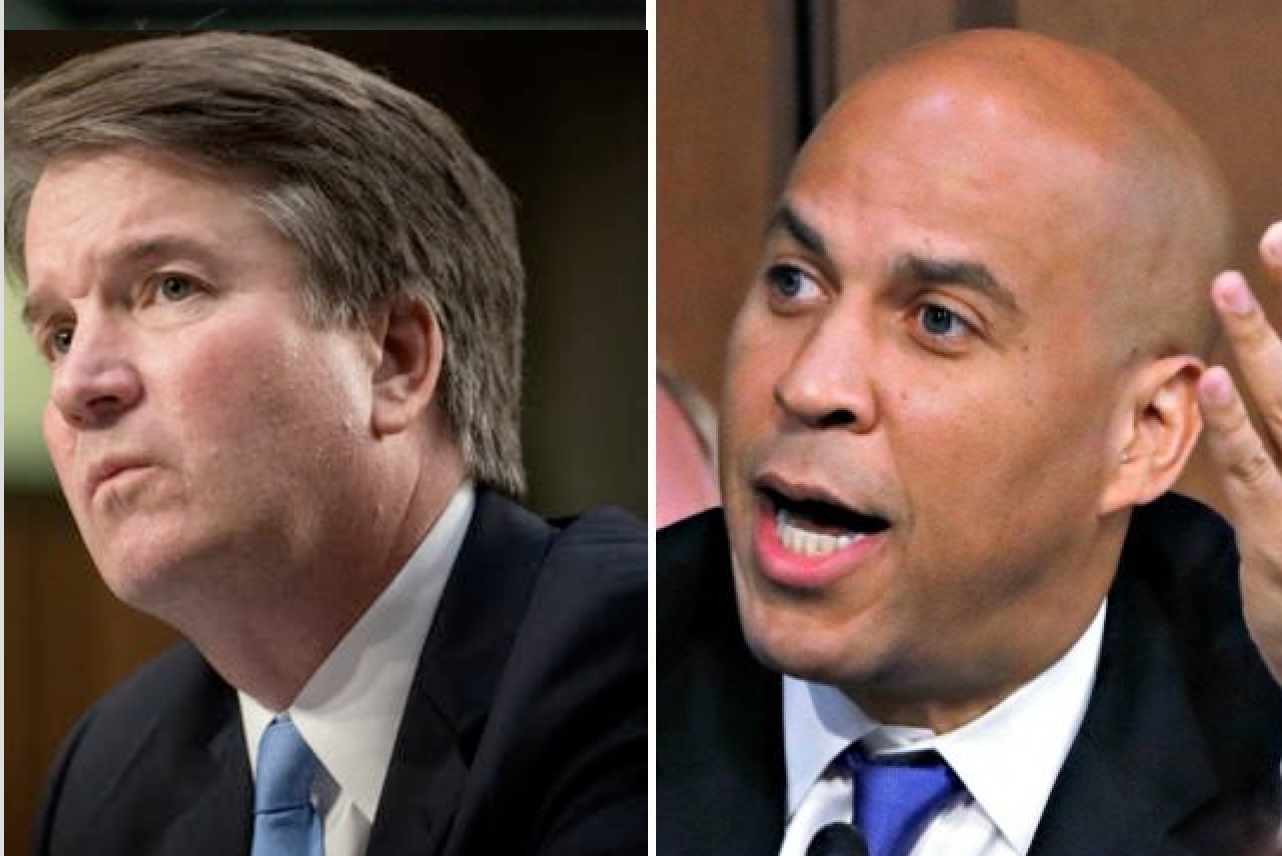 Photo of Anti-Kavanaugh Senator Cory Booker Admitted To Sexually Assaulting High School Friend In 1992