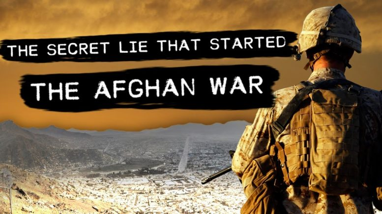 Photo of WATCH: The Secret Lie That Started the Afghan War
