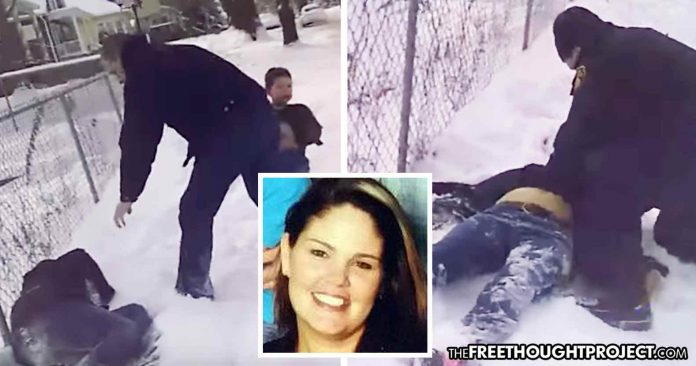 Photo of This Is The Video Police Didn't Want You to See, Showing Cop Shoot at Dog, Kill Innocent Mom Instead