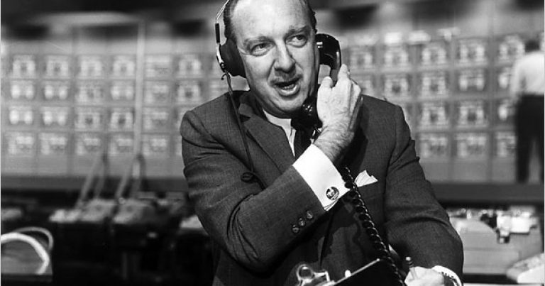 """""""Most Trusted Man In America"""" Walter Cronkite: """"I'm Glad To Sit At The Right Hand Of Satan"""""""