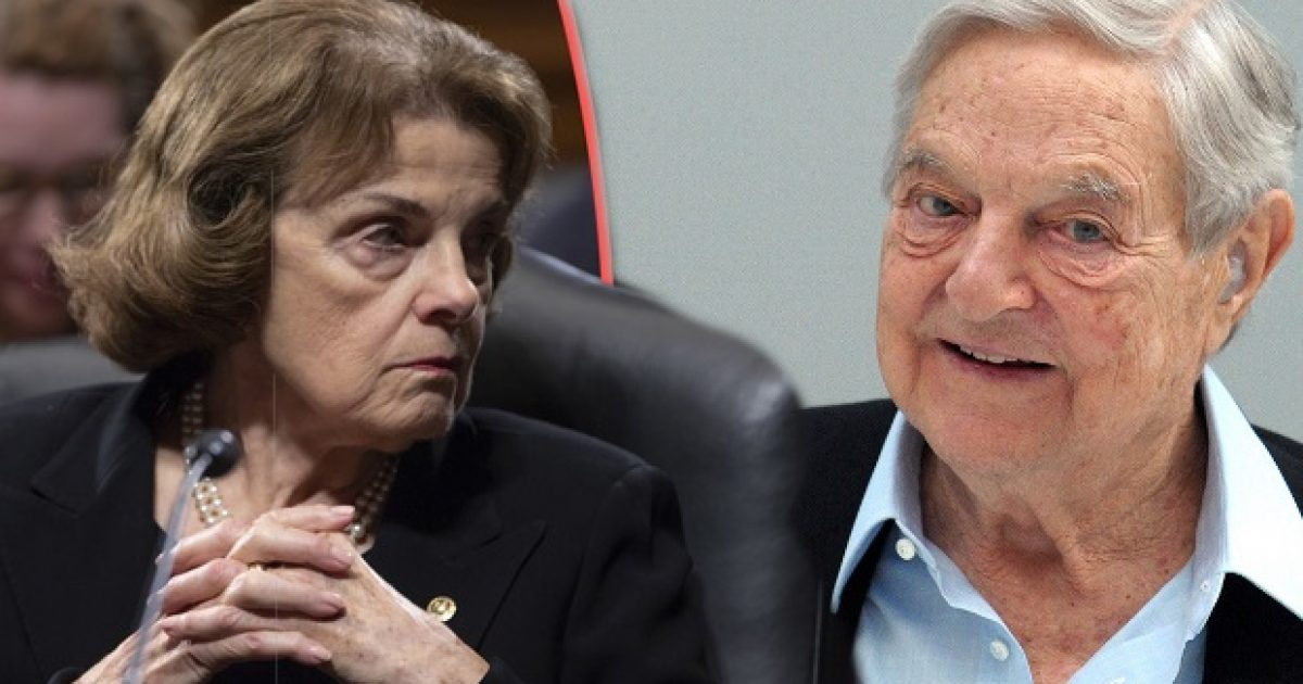 Photo of Senator Dianne Feinstein's Ties To George Soros Organizations