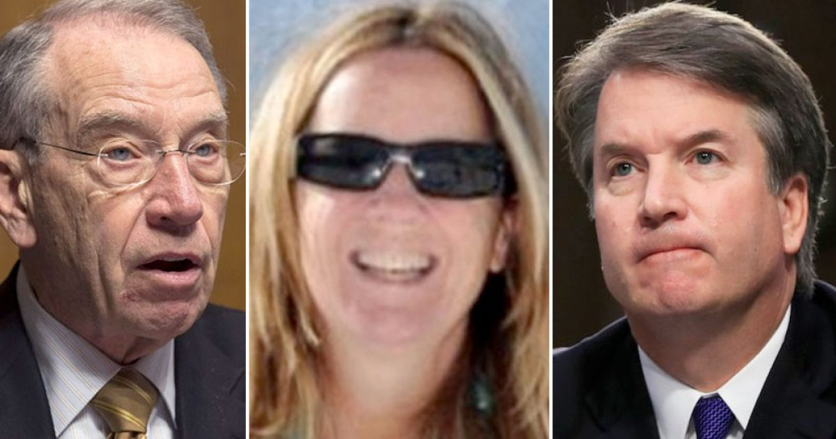 Photo of 3 Strikes & You're Out, Dr. Ford! — All 3 of Christine Ford's Eyewitnesses Have 'No Recollection of Being There'