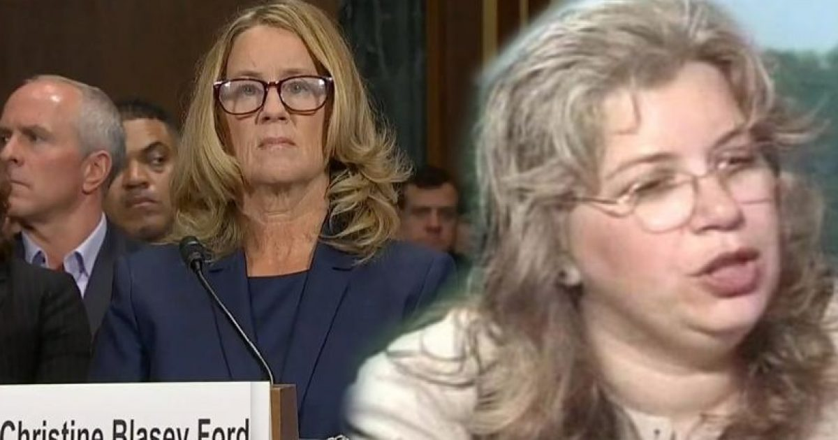 Photo of I'll Say What Kavanaugh Wouldn't: Christine Ford Was Part Of The Political Hit On Him & Here's The Audio Evidence