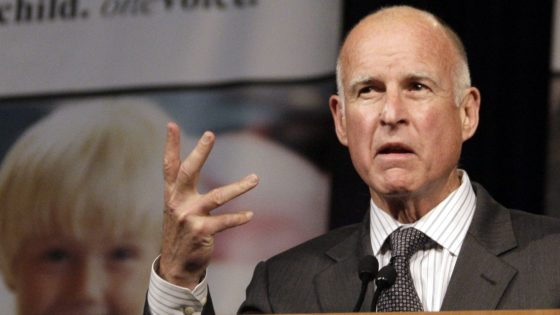 Photo of California Governor Jerry Brown Issues Veiled Threat To Trump — 'Something's Got To Happen To This Guy'