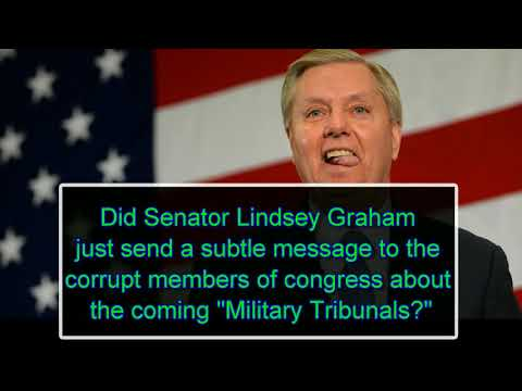 Photo of Senator Lindsey Graham's curious questions to Judge Kavanaugh on military tribunals for U.S. citizens