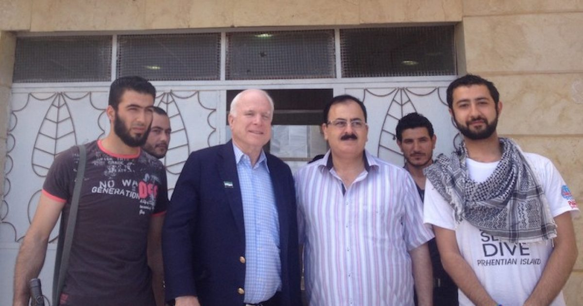 """Photo of Egyptian Press: John McCain Was The """"Godfather,"""" """"Leader,"""" & """"Real Supreme Guide"""" Of The Muslim Brotherhood"""