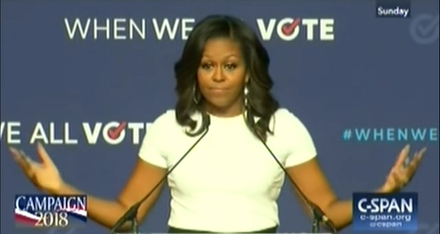 Photo of Michelle Obama Encourages People Who 'Know Nothing About Nothing' to Vote