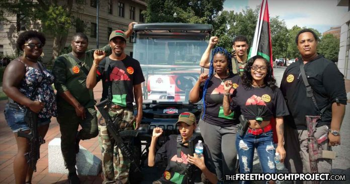 Photo of Black Students March On Ohio State University With AR-15s to Show Self-Defense Has Nothing to Do With Race