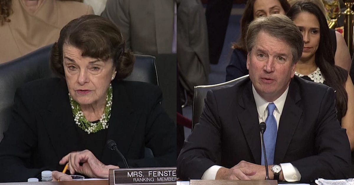 Photo of Desperate Feinstein Pushes 30 Year Old Claim of Sexual Misconduct by Kavanaugh