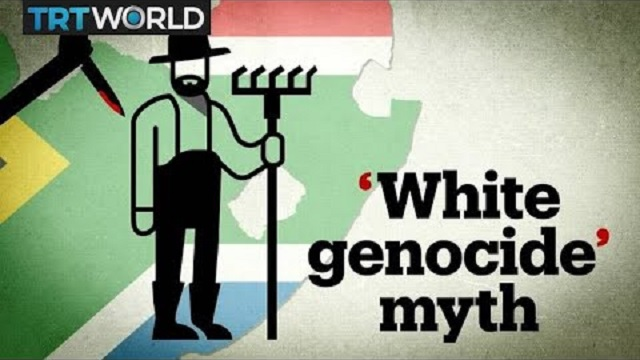Photo of Turkish State TV: 'White Genocide' In South Africa Is A 'Myth' Of The 'Far-Right'