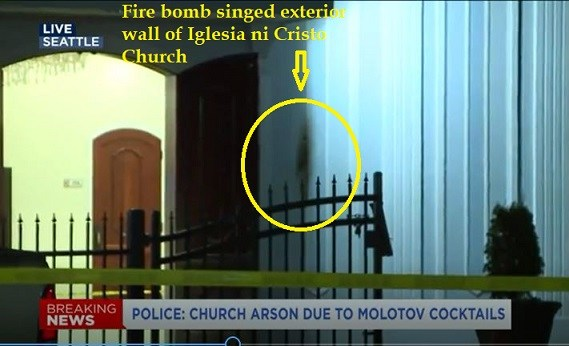 Photo of Seattle: Church firebombing comes to America