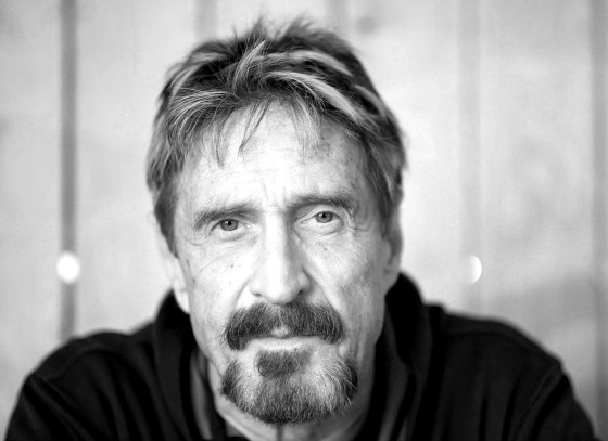 "Photo of Cybersecurity Expert John McAfee Issues Warning About Those Cell Phone ""Presidential Alerts"""